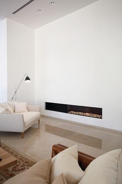 A Clear 150 Front Facing Fireplace