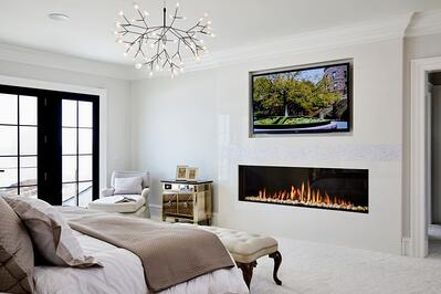 Arrange a Living Room with a Fireplace