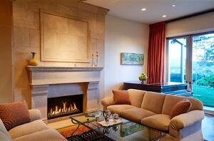 Beauty of a Front Facing Fireplace