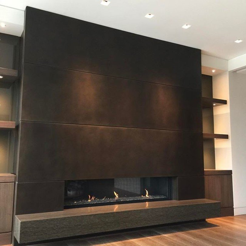 Fireside Home Solutions Photo with an Ortal Fireplace