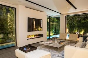 Indoor Outdoor 200 Fireplace in a Residential Setting