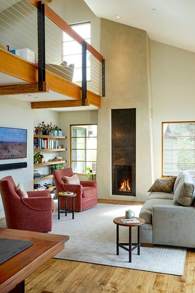 Modern Fireplaces Make for an Inviting Interior