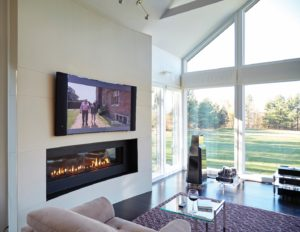 Ortal Fireplace Cool Wall