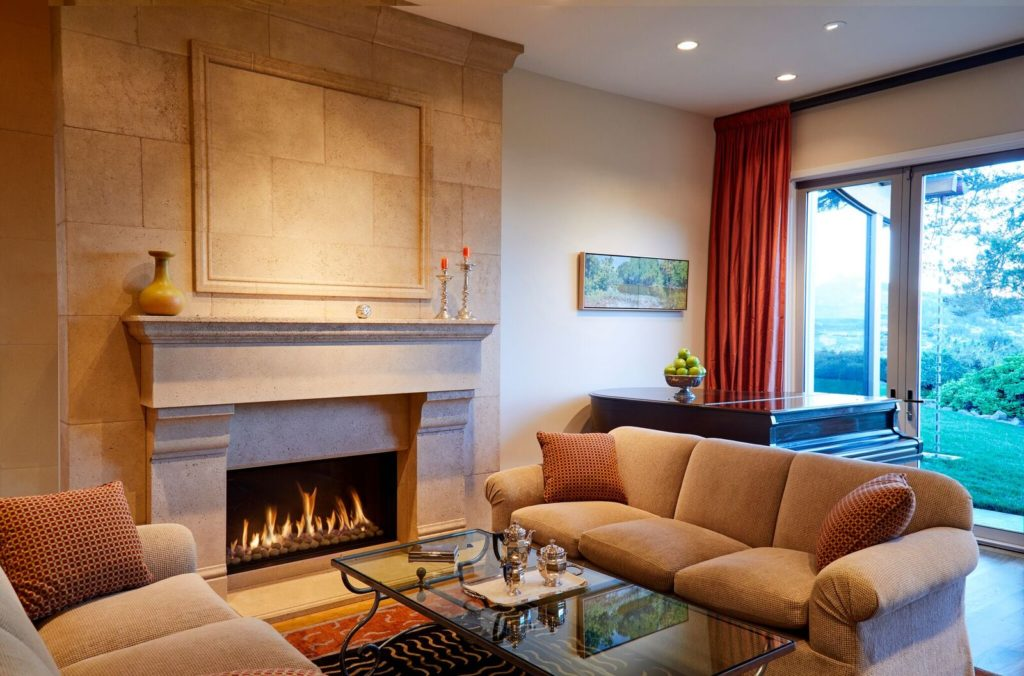 Traditional 110 Fireplace
