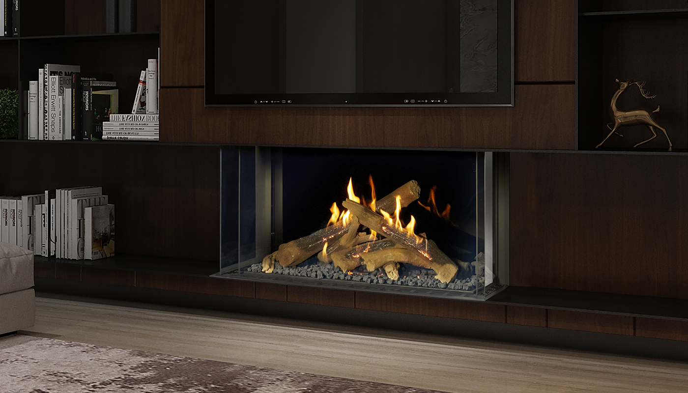 Modern Luxury Fireplaces By Ortal Heat Direct Vent Gas