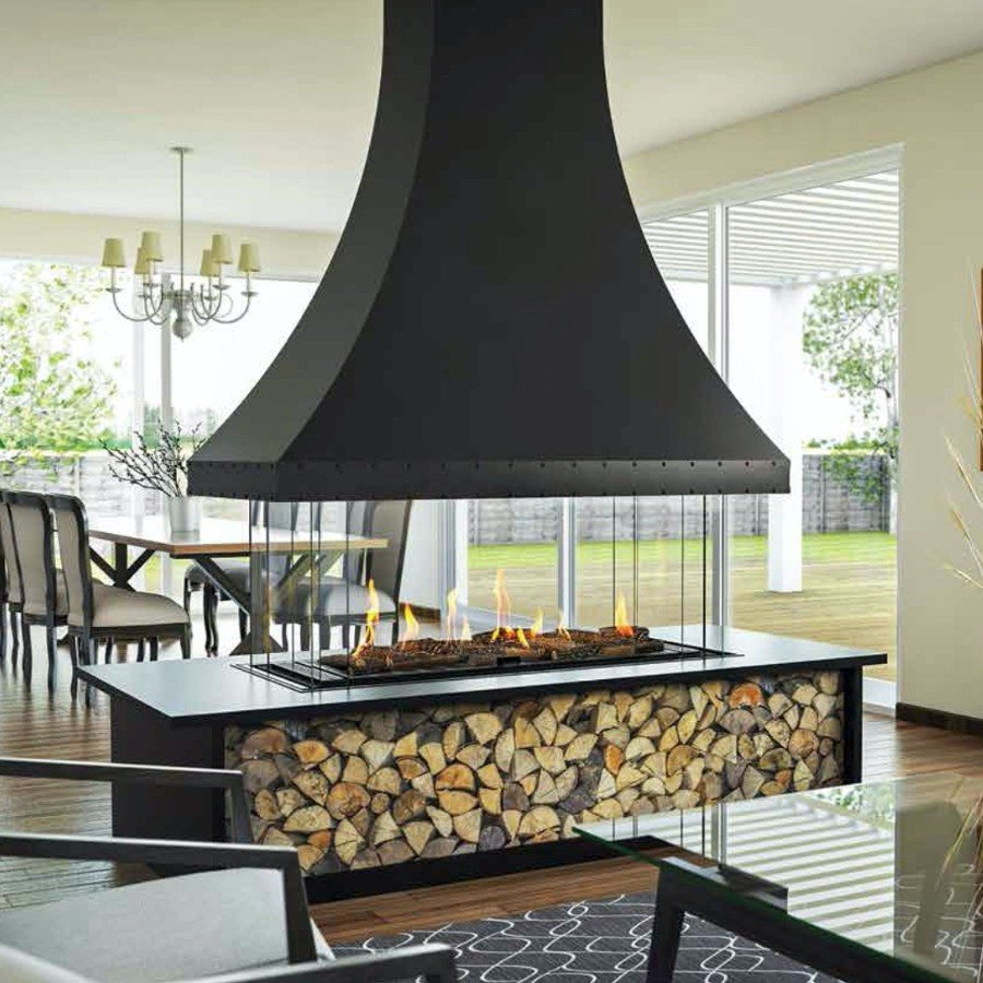 Island and Curve 130 (Decorative Hood, With Base)